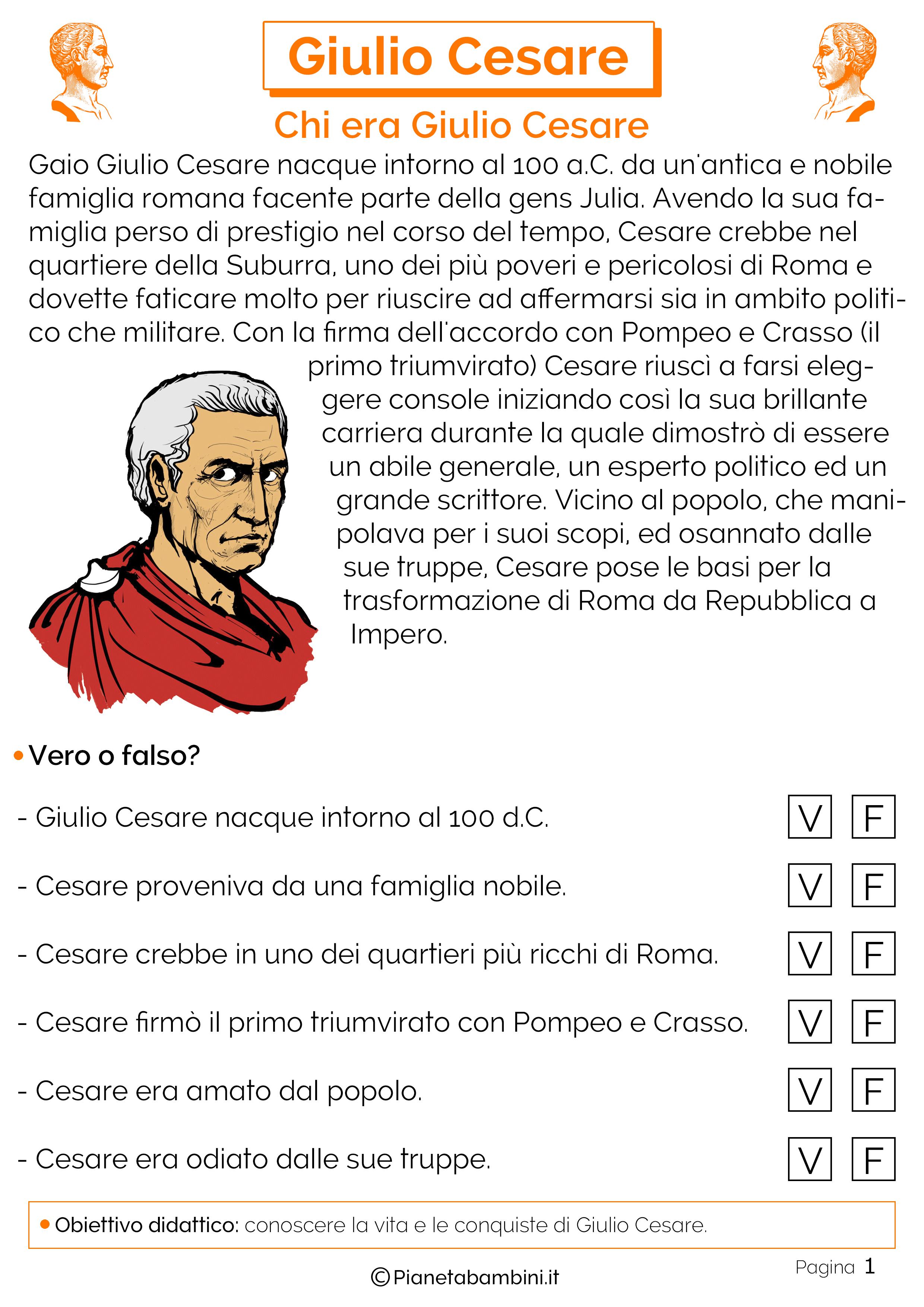 Vita di Giulio Cesare