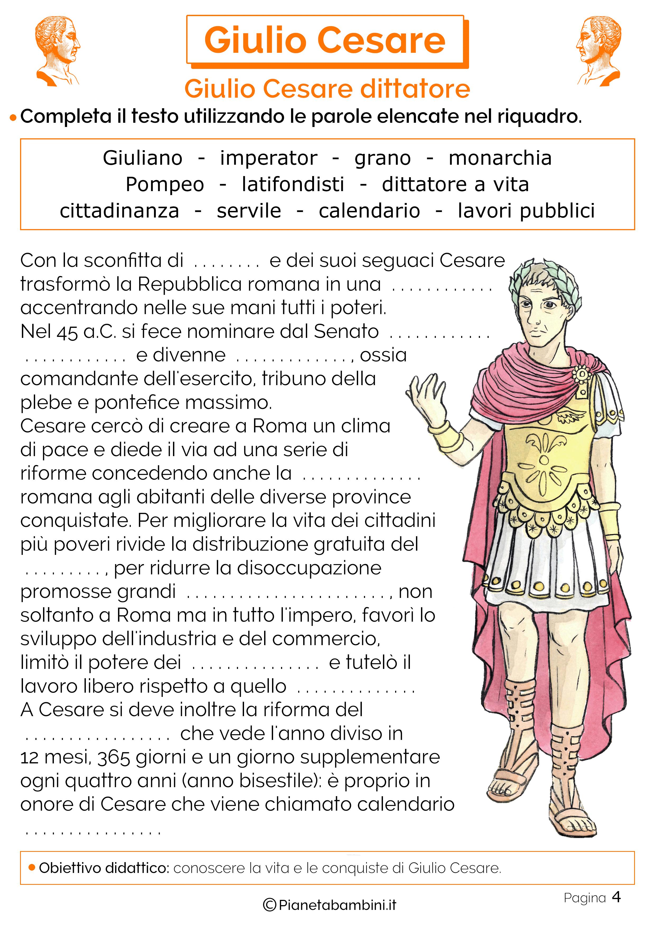 La dittatura di Giulio Cesare