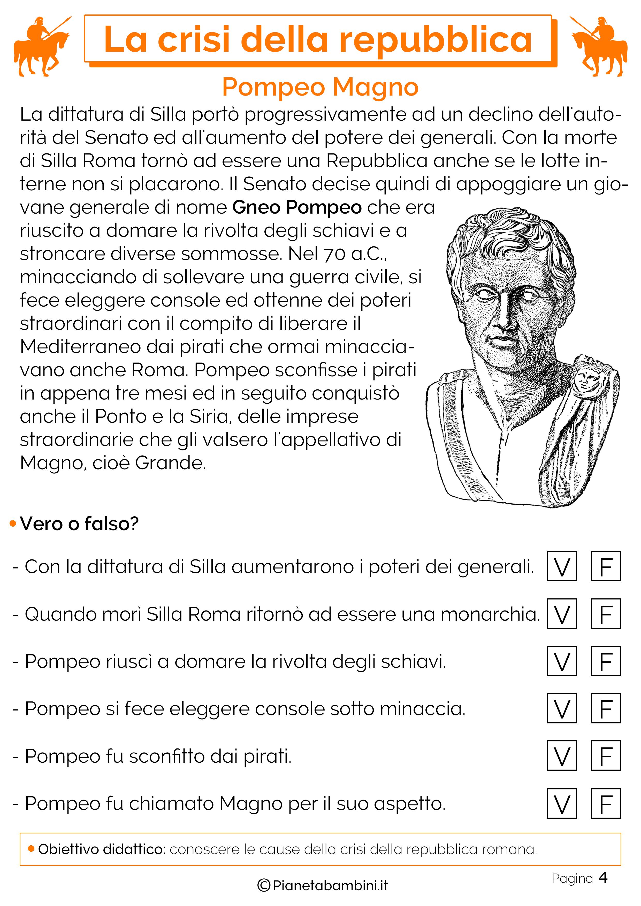 L'ascesa di Pompeo Magno