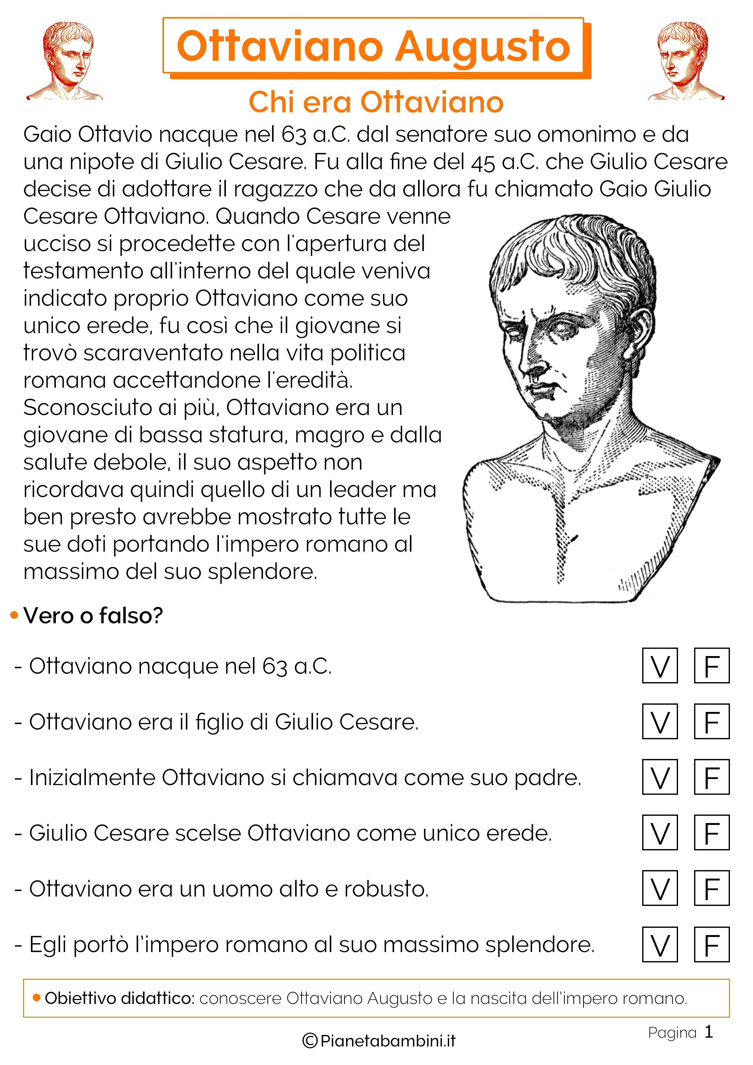Nascita di Ottaviano Augusto