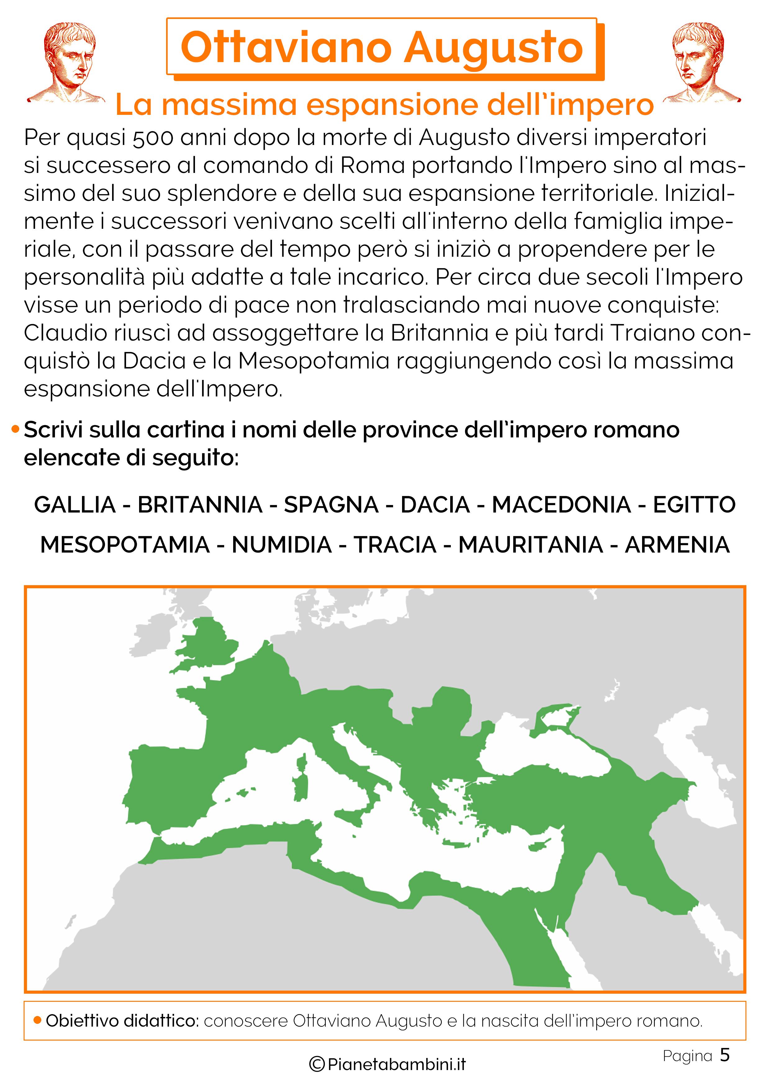 La massima espansione di Roma