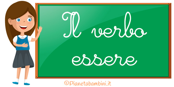 Schede didattiche sul verbo essere per la scuola primaria