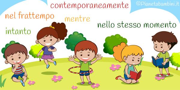 La contemporaneit schede didattiche per la scuola primaria - Parole con significati diversi ...