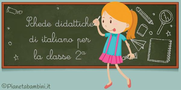 Esercizi sul programma completo di italiano per la classe seconda