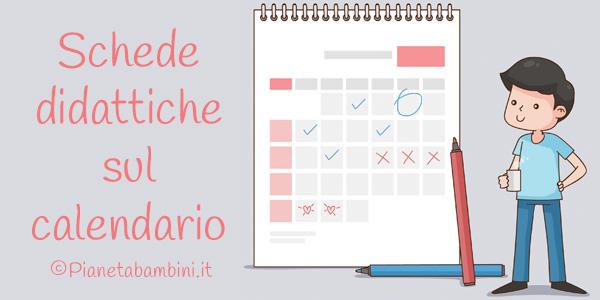 Calendario It.Il Calendario Schede Didattiche Per La Scuola Primaria