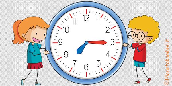 Orologio Da Costruire Per Bambini Della Scuola Primaria