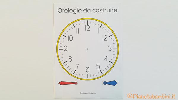 Colorazione dell'orologio da costruire