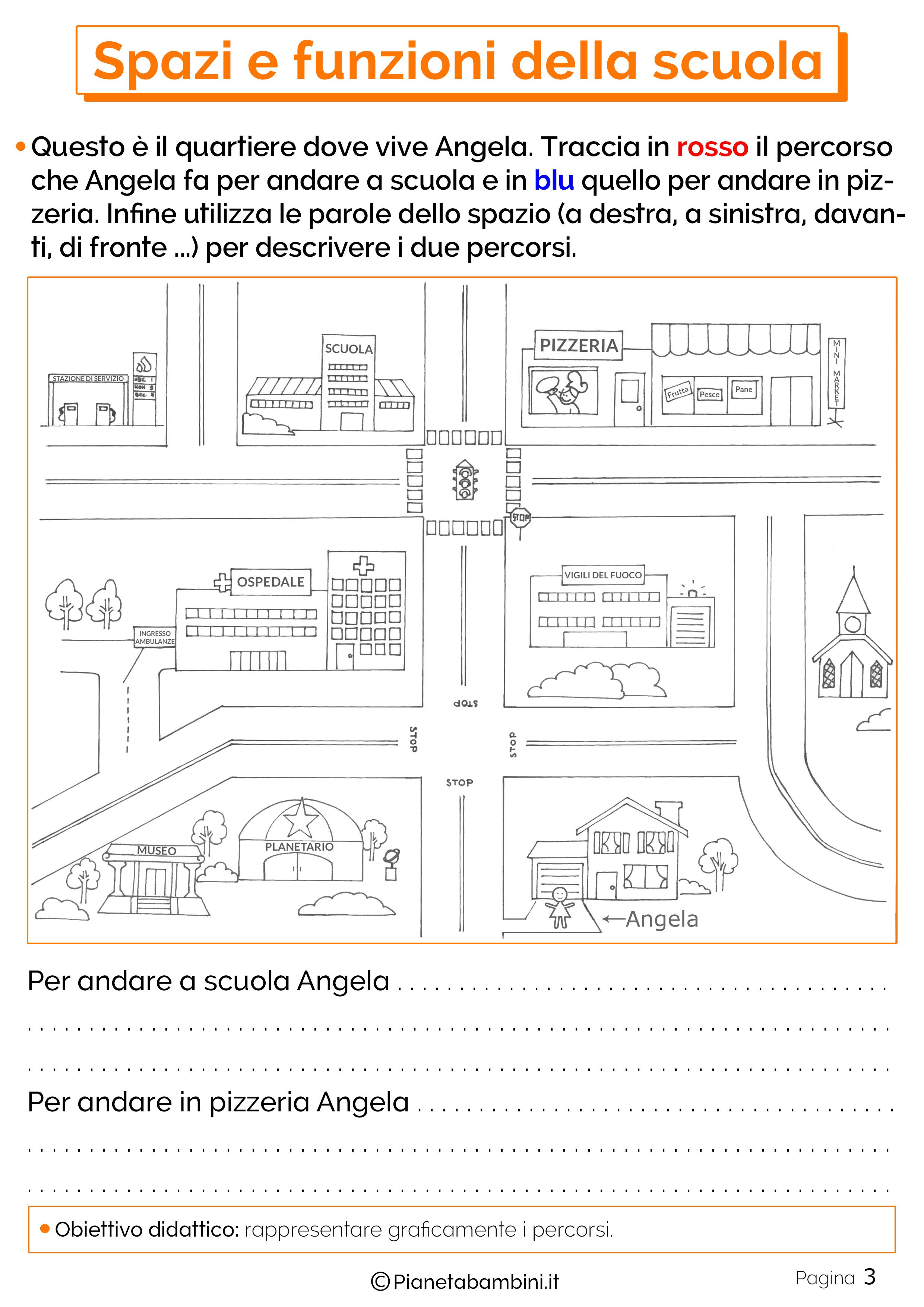 Esercizi su spazi e funzioni della scuola 3