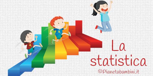 Esercizi di statistica per bambini da stampare gratis