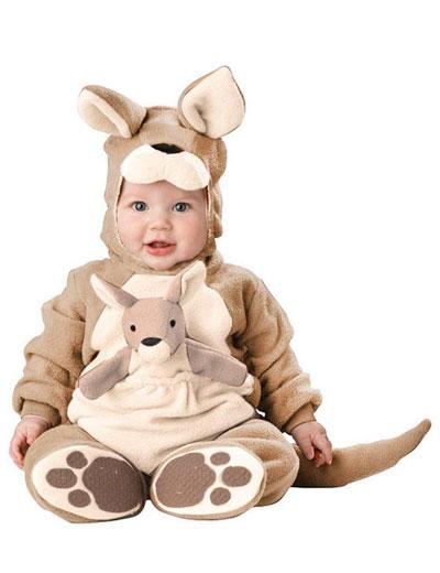 Costume da canguro per neonati