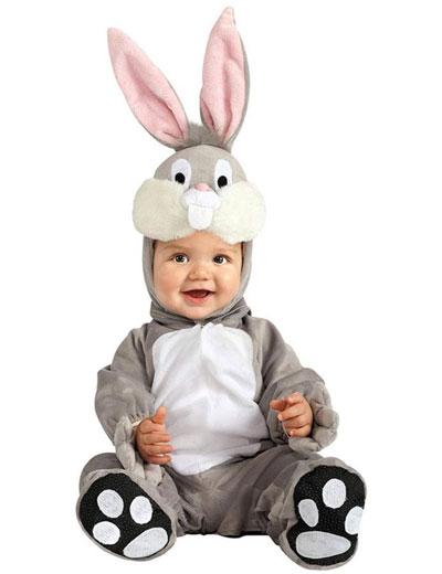 Costume da coniglio per neonati
