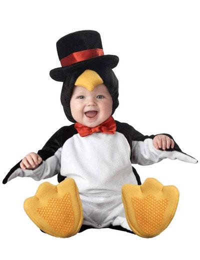 Costume da pinguino per neonati