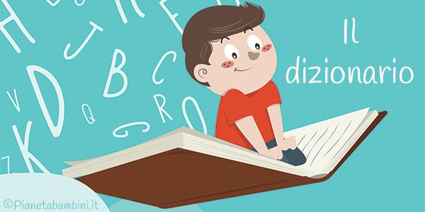 Esercizi sul dizionario per bambini da stampare gratis