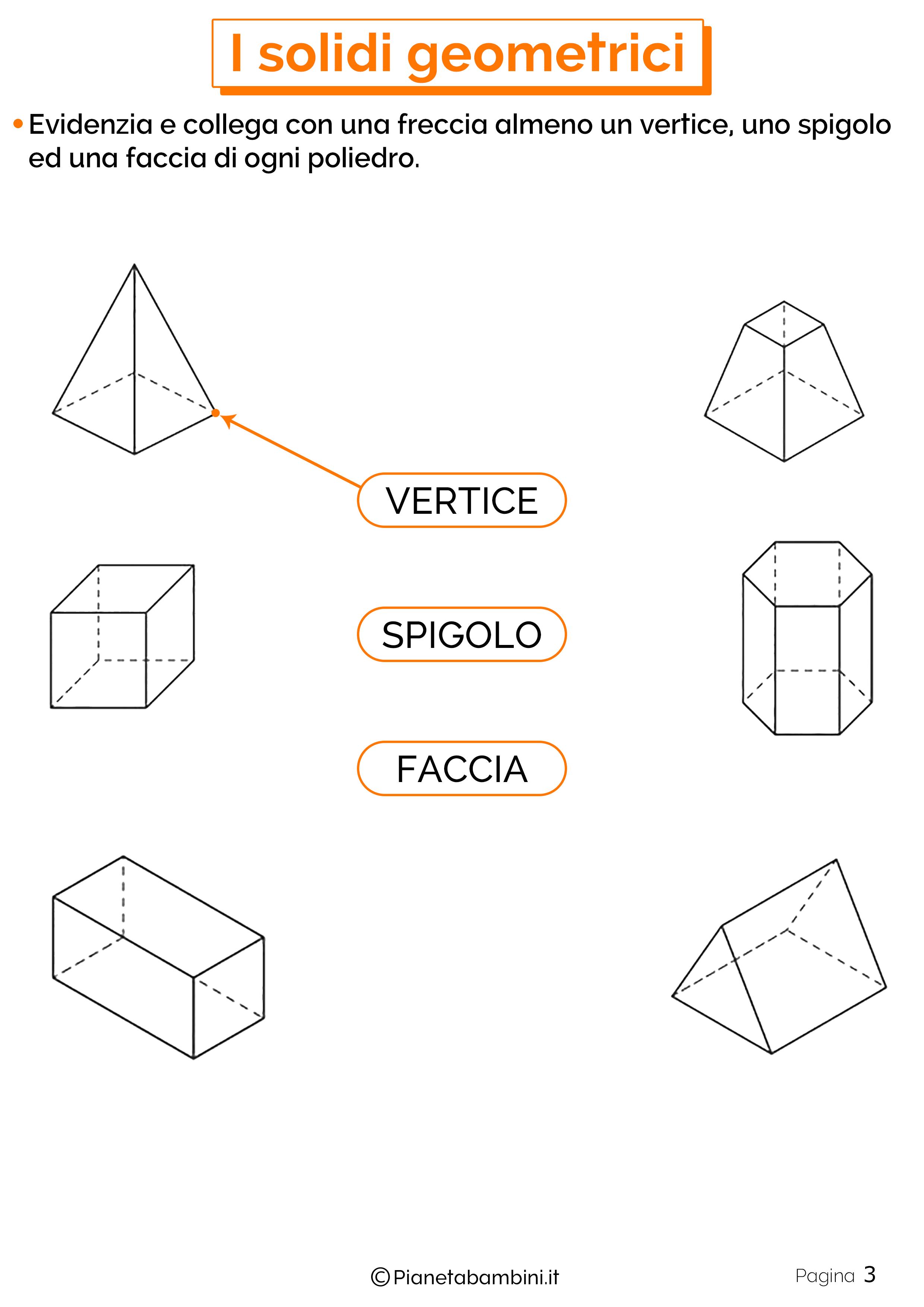 Schede didattiche sui solidi geometrici 3