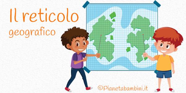 Il Reticolo Geografico Schede Didattiche Per La Scuola Primaria
