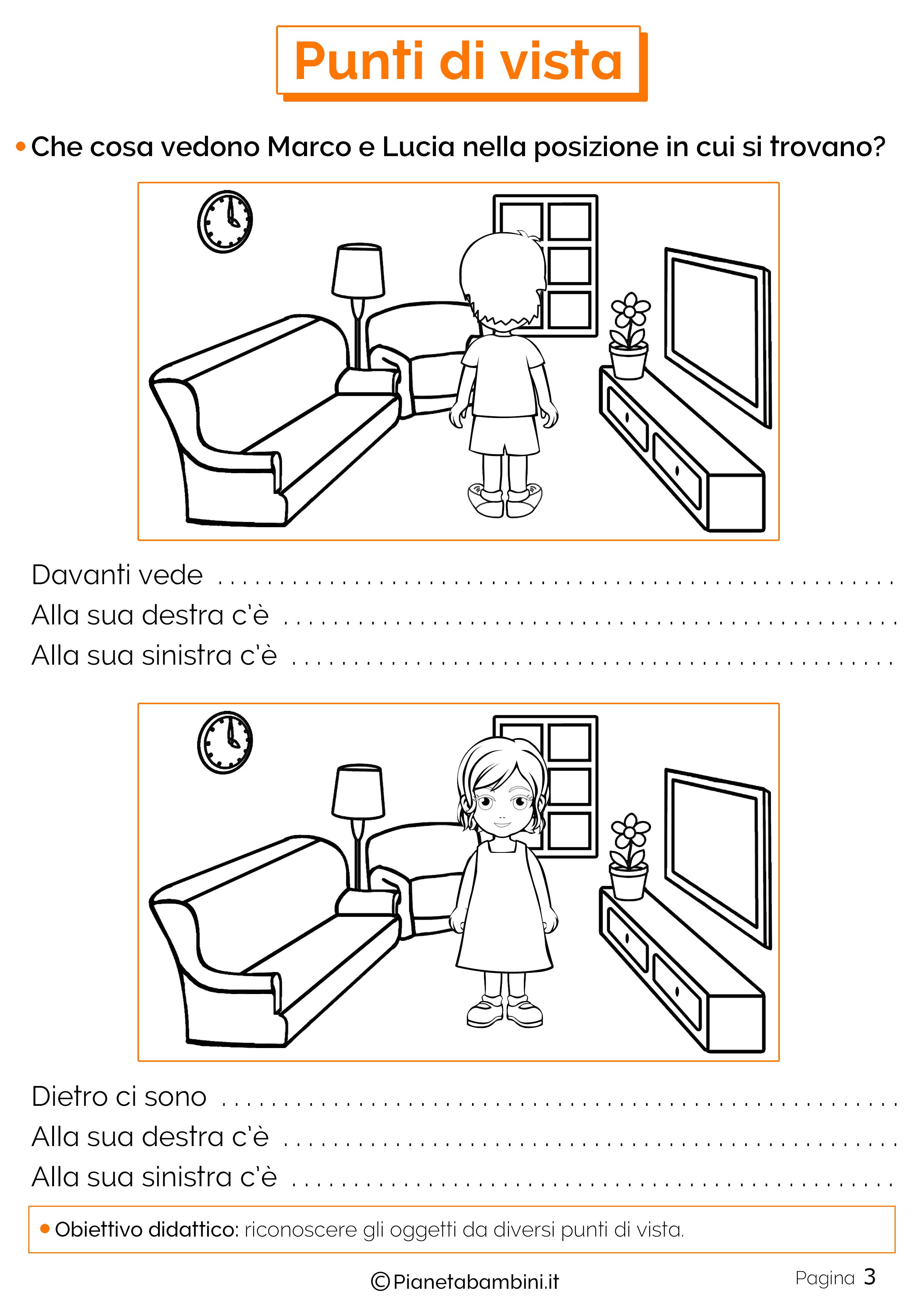 Esercizi sui punti di vista 3