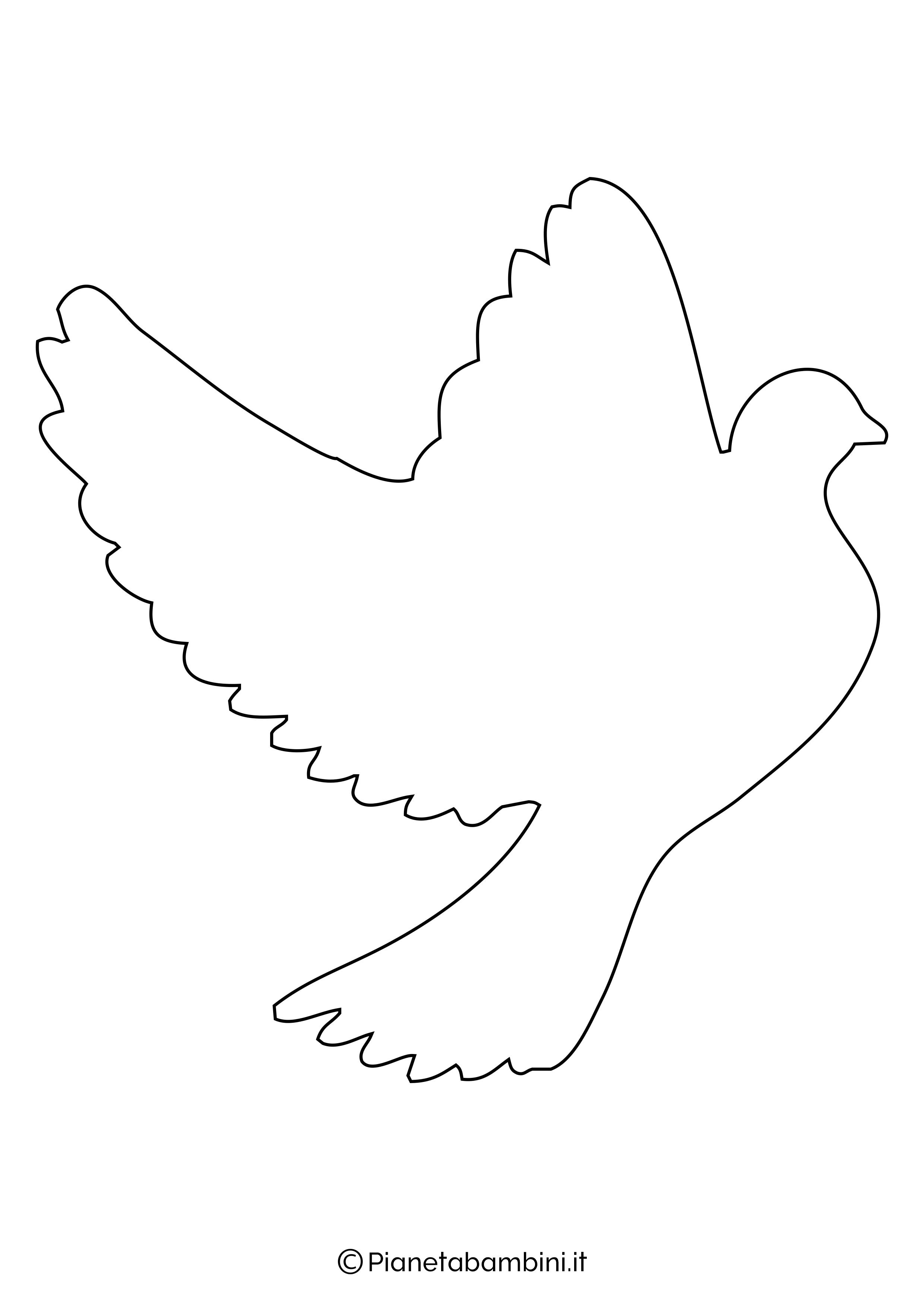 Disegni di colombe grandi 1