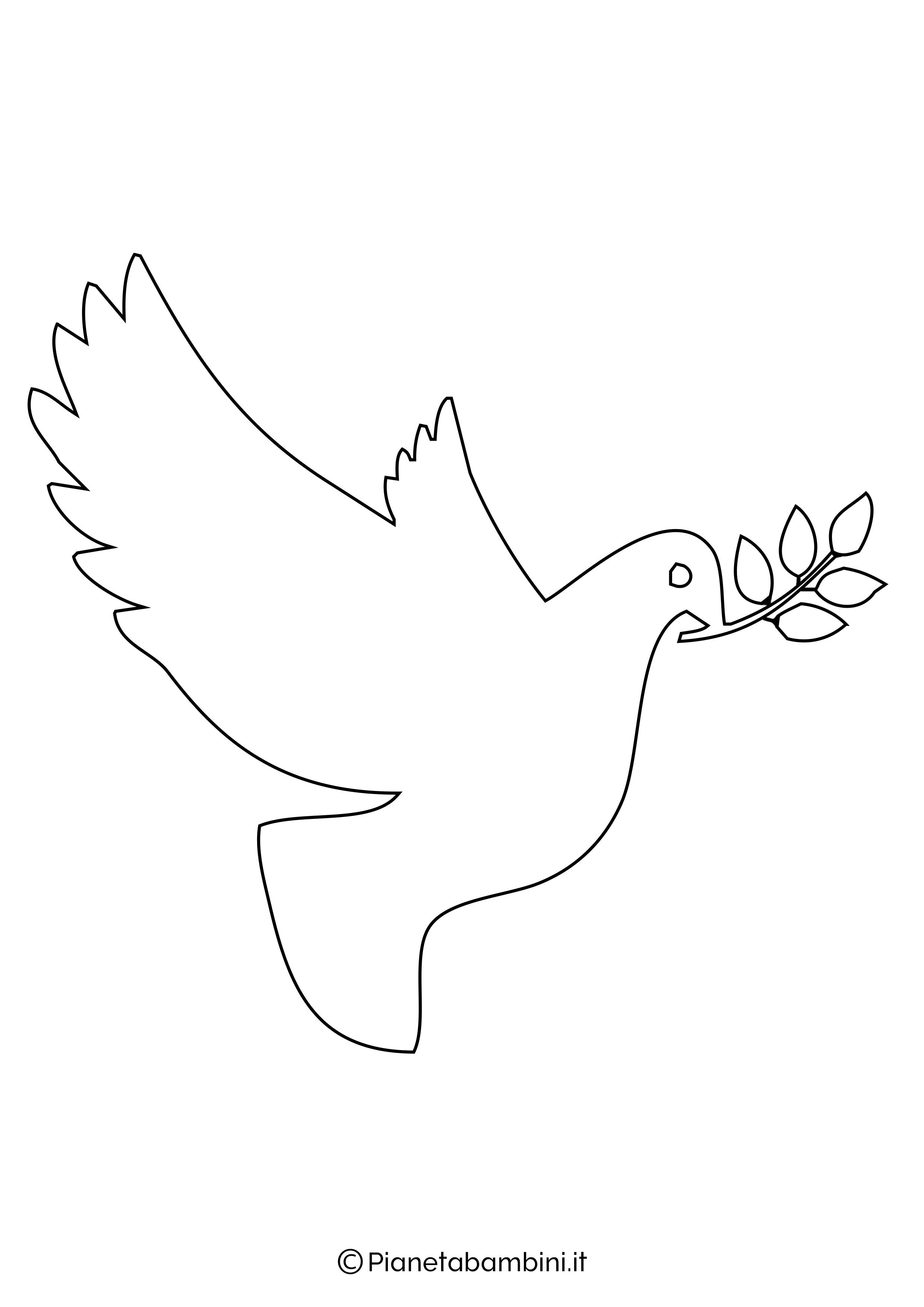 Disegni di colombe grandi 2