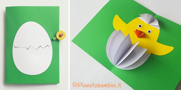 Come creare un biglietto di Pasqua pop-up