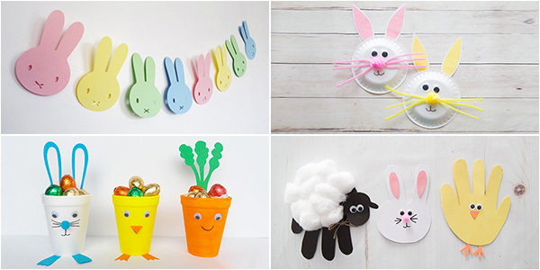 Idee per creare lavoretti di Pasqua per la scuola dell'infanzia