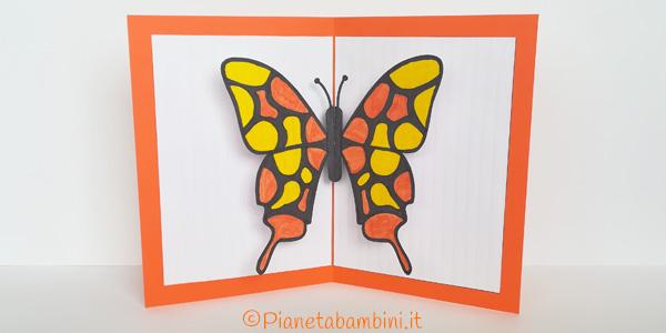 Come creare un biglietto pop-up con farfalla
