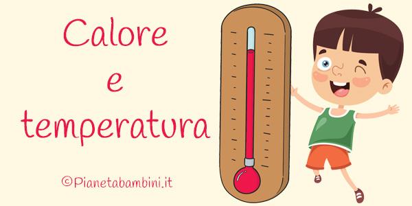Esercizi su calore e temperatura per la scuola primaria