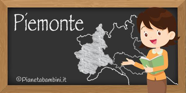 Esercizi sulla regione Piemonte per bambini