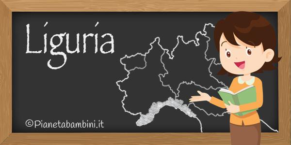Esercizi di geografia sulla Liguria da stampare gratis