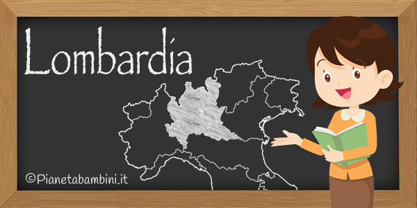 Esercizi sulla Lombardia per la scuola primaria