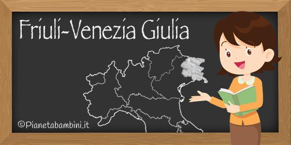 Esercizi sul Friuli-Venezia Giulia per la scuola primaria