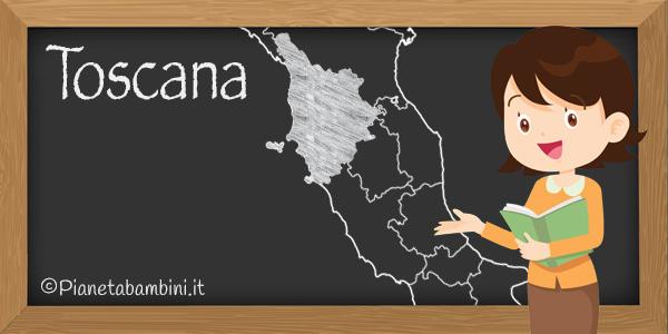 Esercizi sulla Toscana per la scuola primaria