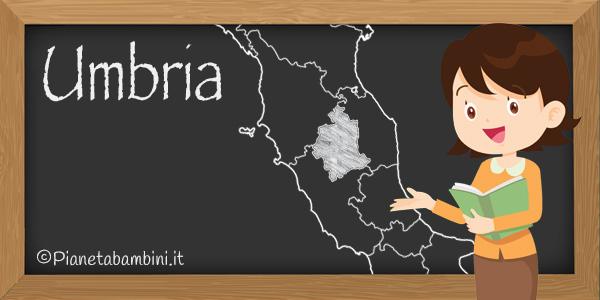 Esercizi sulla regione Umbria per la scuola primaria