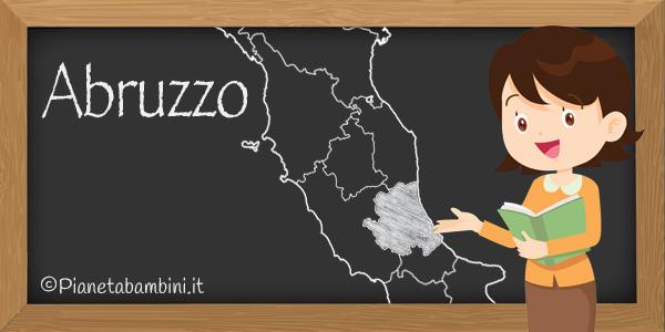 Esercizi sull'Abruzzo per la scuola primaria da stampare