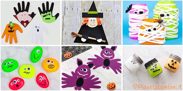 Idee per lavoretti di Halloween per la scuola dell'infanzia