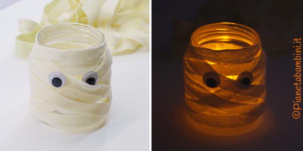 Come creare una lanterna mummia per Halloween