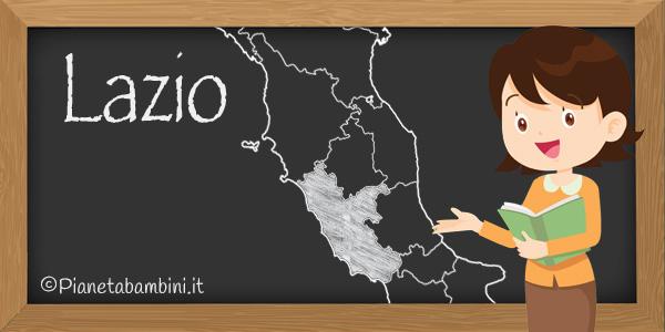 Esercizi sulla regione Lazio per la scuola primaria