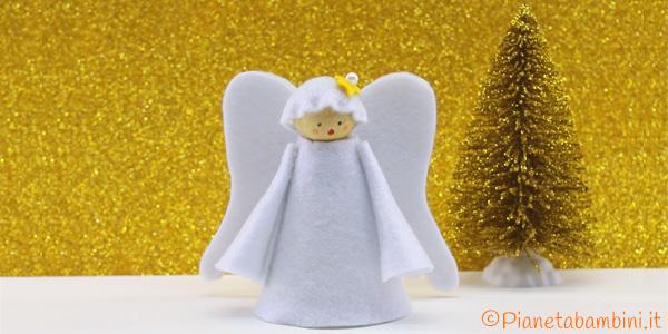 Come creare un angioletto di Natale in feltro o pannolenci