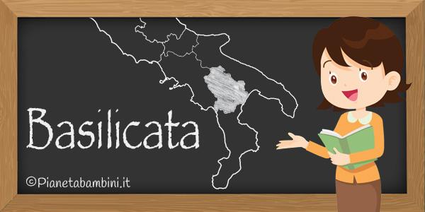 Esercizi sulla regione Basilicata per la scuola primaria