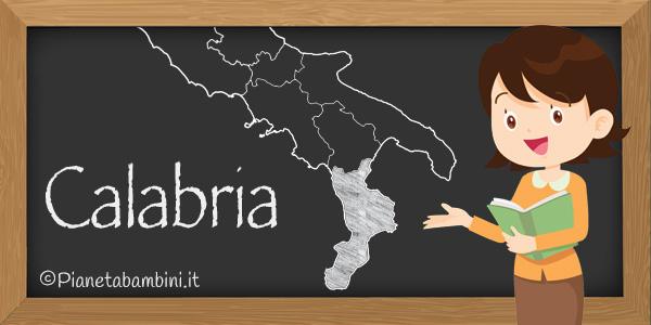Esercizi sulla Calabria per la scuola primaria da stampare
