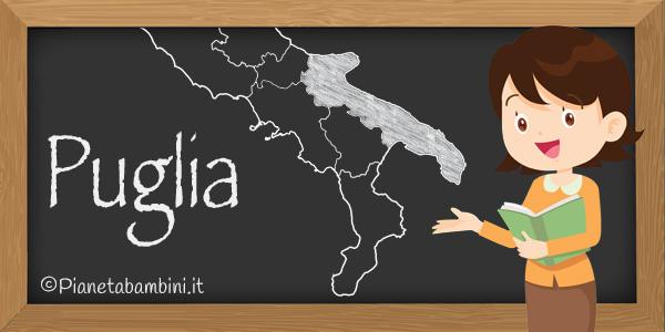 Esercizi sulla regione Puglia per la scuola primaria