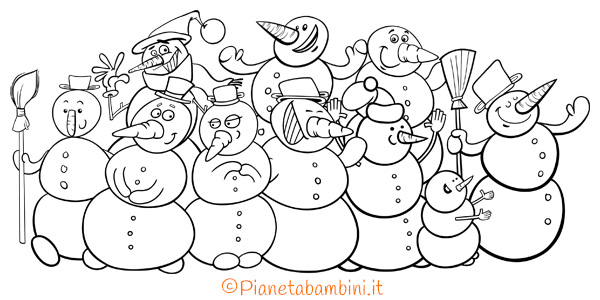 Disegni Di Natale Da Colorare Classe Quinta.Natale Pianetabambini It