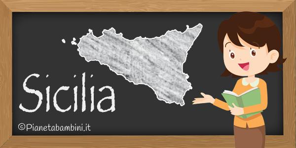 Esercizi sulla Sicilia per la scuola primaria