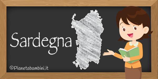 Esercizi sulla Sardegna da stampare gratis