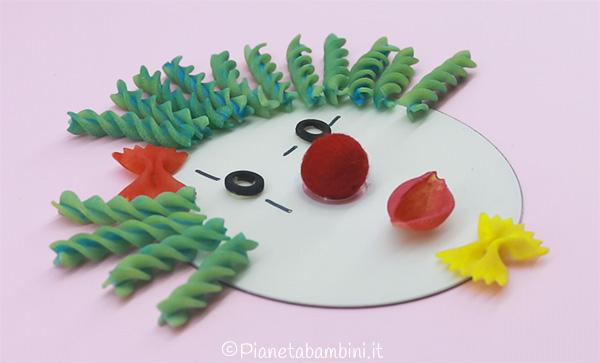 Come creare il naso del pagliaccio con pasta alimentare