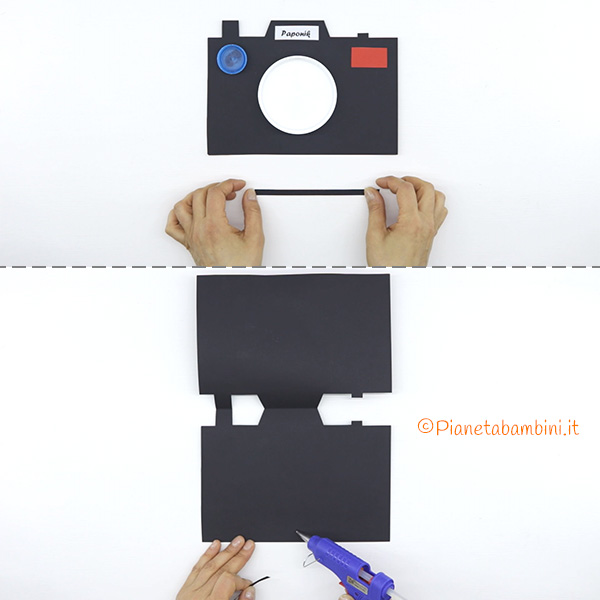 Creazione del supporto del portafoto in Cartoncino per la Festa del Papà