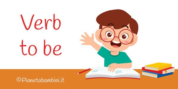Esercizi sul verbo essere in inglese per la scuola primaria