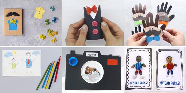Idee per lavoretti per la festa del papà per la scuola dell'infanzia