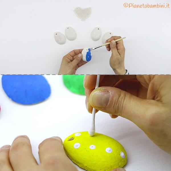 Come decorare le uova in pasta di sale