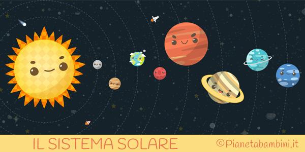 Esercizi sul sistema solare per la scuola primaria