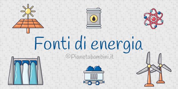 Esercizi sulle fonti di energia rinnovabili e non rinnovabili